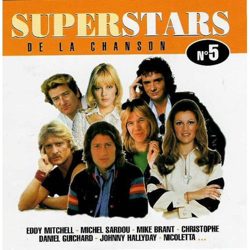 cfaf756638528d Superstars De La Chanson-Vol 5 - Barriere Nicoletta ; Hallyday Guichard ;  Caradec Francois