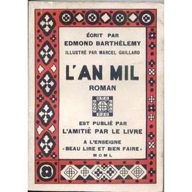 L'an Mil. Roman. de edmond barthelemy