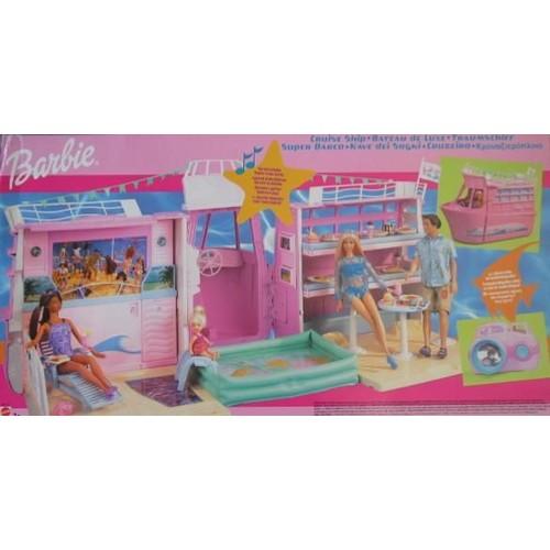 bateau de luxe barbie achat vente de jouet priceminister rakuten. Black Bedroom Furniture Sets. Home Design Ideas
