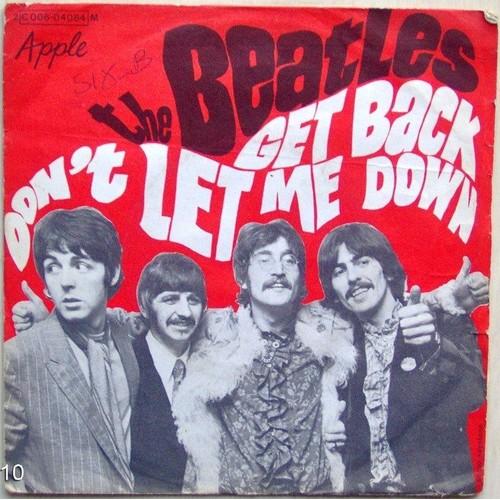Beatles Get Back Dont Let Me Down