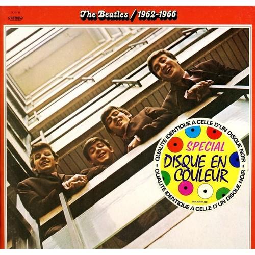 the beatles 1962 1966 disque couleur rouge picture disc r dition de 1978 33 tours. Black Bedroom Furniture Sets. Home Design Ideas