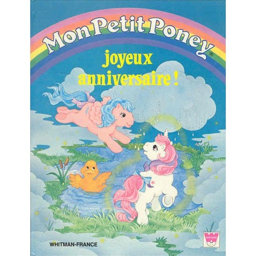 Mon Petit Poney Joyeux Anniversaire De Belon Cathy Rakuten
