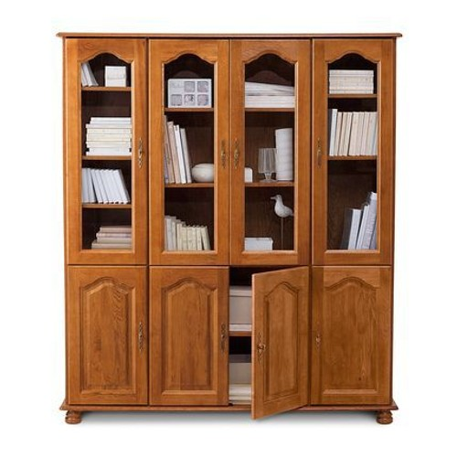 bibliothque porte vitre bibliothque vitrine blanche with bibliothque porte vitre top meubles. Black Bedroom Furniture Sets. Home Design Ideas