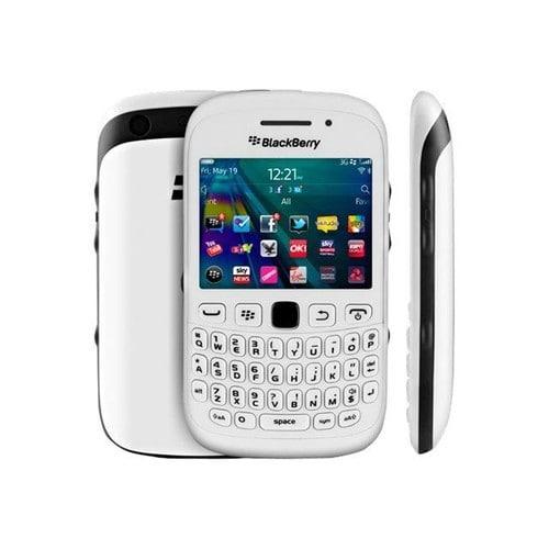 s blackberry curve  blanc