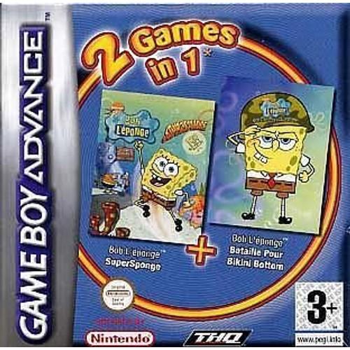 Ensemble de jeu pour bikini Spongebob