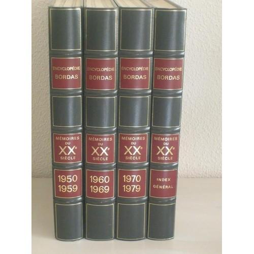 encyclopedie bordas memoires du 20eme siecle