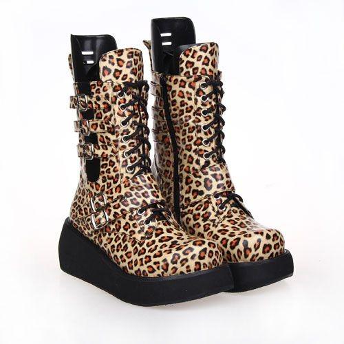botte leopard
