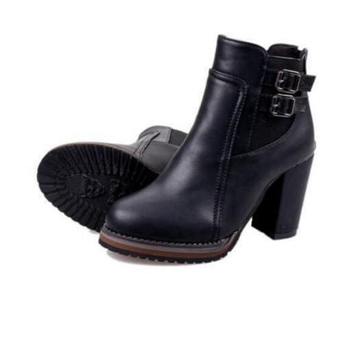 Femmes Martin Botte Meilleure Qualité Nouvelle arrivee Bottine Hiver Confortable Chaussure Plus De Couleur Grande Taille 37-42 oPceNBExMA