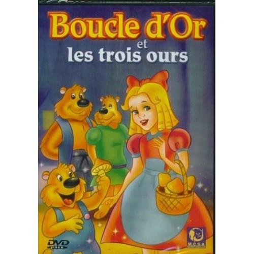 Boucle d 39 or et les trois ours de dvd zone 2 - Code avantage aroma zone frais de port ...