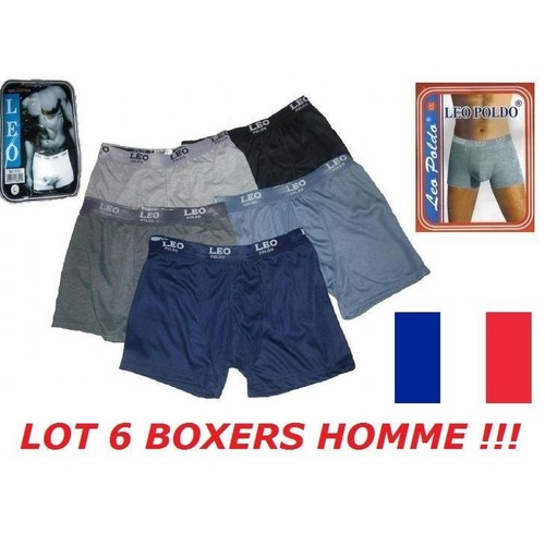 boxer homme lot 6 pas cher ou d 39 occasion sur priceminister rakuten. Black Bedroom Furniture Sets. Home Design Ideas