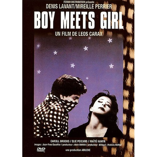 boy meets girl carax French directors leos carax and michel gondry carax, a boy from the parisian suburbs boy meets girl (1984) and bad blood.