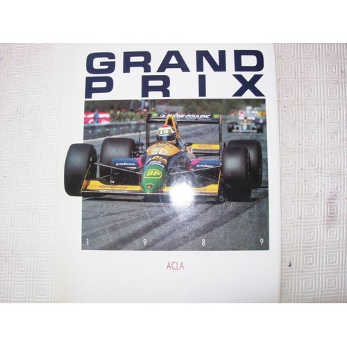 grand prix 1989 equipe larousse f1 de didier braillon format beau livre. Black Bedroom Furniture Sets. Home Design Ideas
