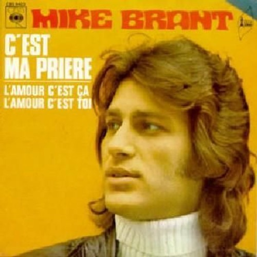chanson mike brant cest ma priere