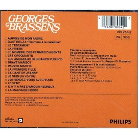 Les amoureux des bancs publics georges brassens cd album rakuten - Les amoureux des bancs publics brassens ...