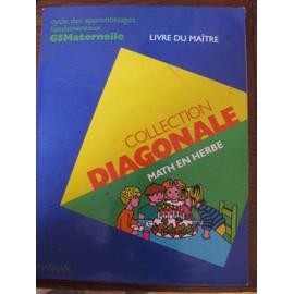 Math En Herbe - Cycle Des Apprentissages Fondamentaux, Gs Maternelle, Livre Du Ma�tre de Jean-Jo�l Br�geon
