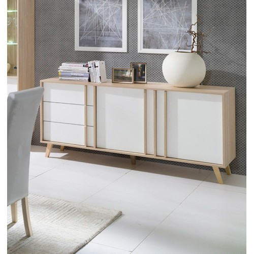buffet blanc achat vente neuf d 39 occasion priceminister. Black Bedroom Furniture Sets. Home Design Ideas