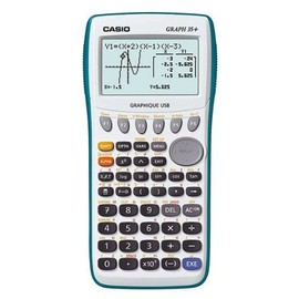 Casio Graph 35+ Usb - Calculatrice Scientifique Graphique - Port Usb - Blanche