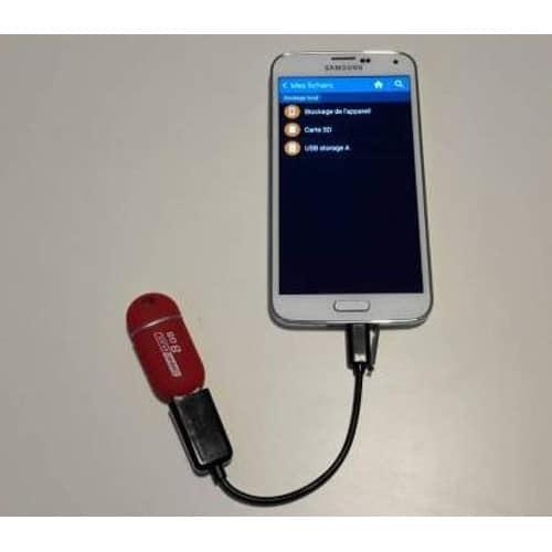 C�bles micro usb pour t�l�phone mobile et tablette (Autre)