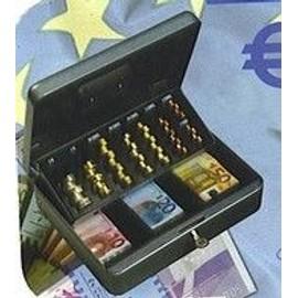 caisse caissette monnayeur coffre fort pour monnaie et euros 2 cles. Black Bedroom Furniture Sets. Home Design Ideas
