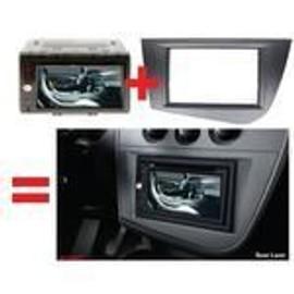 Petite annonce Facade Autoradio Double Din Pour Seat Leon Ap05 -Argent Fonce- - 13000 MARSEILLE