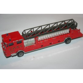 camion pompier grande chelle 1 86 me majorette neuf et. Black Bedroom Furniture Sets. Home Design Ideas