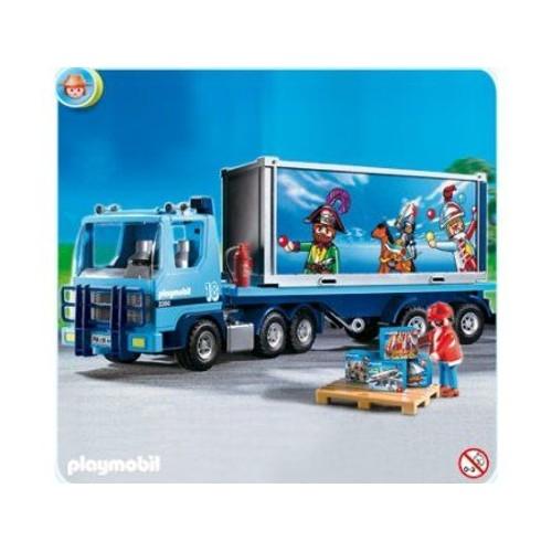 Camion porte container pas cher ou d 39 occasion sur for Container pas cher
