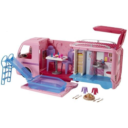 camping car barbie pas cher ou d 39 occasion sur rakuten. Black Bedroom Furniture Sets. Home Design Ideas