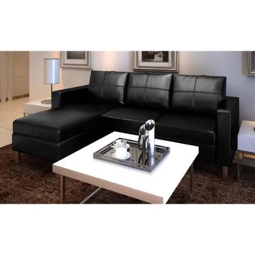 canapé d'angle cuir neuf