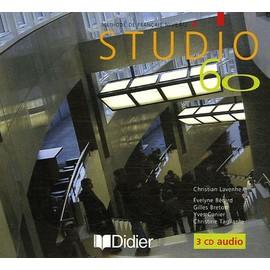 Studio 60 M�thode De Fran�ais Niveau 2 - 3 Cd-Audio de Christian Lavenne