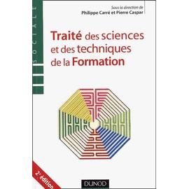 Trait� Des Sciences Et Techniques De La Formation de Pierre Caspar