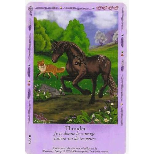 Carte bella sara lueurs bor ales thunder 53 65 neuf et - Jeux de bella sara gratuit ...