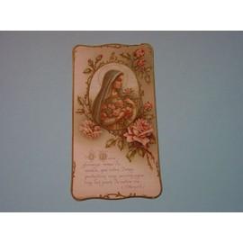 Carte Communiante Marie