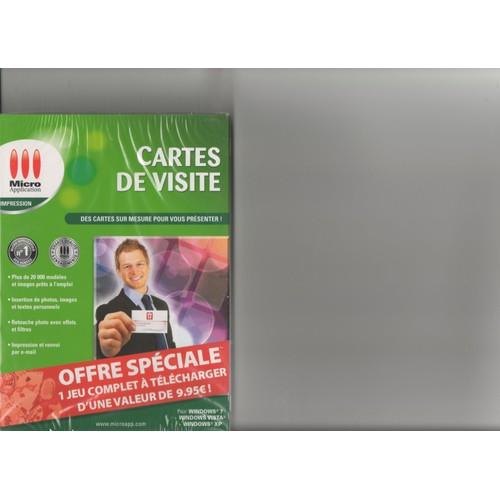 Carte De Visite Micro Application Cartes Edition Classic Inspirational Logiciels Trouver Des