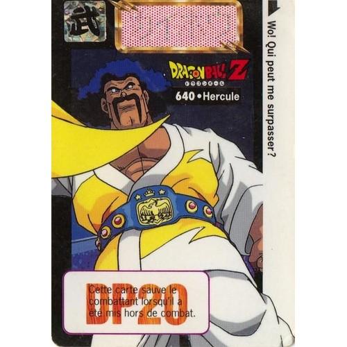 Carte dragon ball z n 640 cartes de jeux neuf et d 39 occasion - Jeux info dragon ball z ...