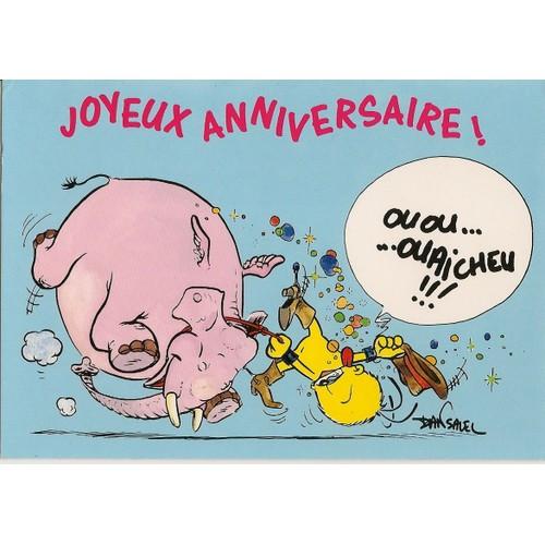 Carte Joyeux Anniversaire Humour