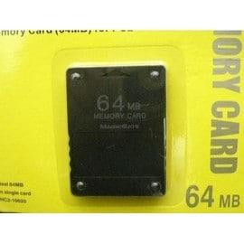 Carte Memoire 64 Mo Pour Playstation 2 (Ps2)