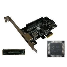 Carte-PCI-EXPRESS-PCIE-eSATA-II-SATA-II-