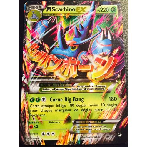 Carte pokemon mega scarhino ex achat et vente neuf d - Mega scarhino ...