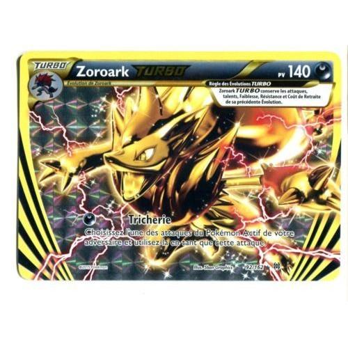 acheter carte pokemon zoroark pas cher ou d 39 occasion sur priceminister. Black Bedroom Furniture Sets. Home Design Ideas