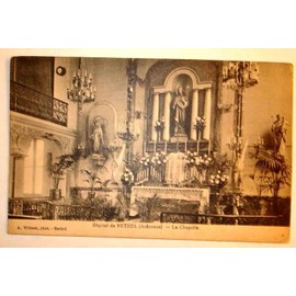 carte postale ancienne ardennes rethel hopital de rethel la chapelle. Black Bedroom Furniture Sets. Home Design Ideas