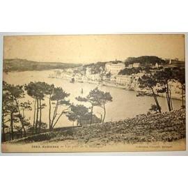 Carte Postale Ancienne Finistere Audierne Vue Prise De La Montagne