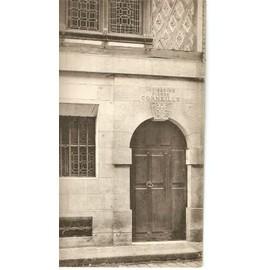 Carte Postale Rouen La Maison De Pierre Corneille La Porte Dentrée