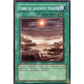 OCCASION Carte Yu Gi Oh TERRE DU JUGEMENT DERNIER LODT-FR047