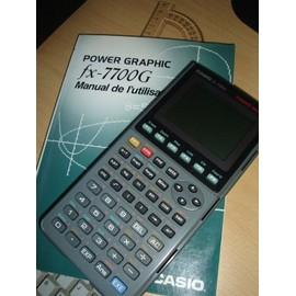 Casio fx 7700g calculatrice scientifique neuf et d for Calculatrice prix