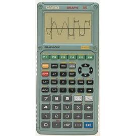 Calculatrice graphique casio graph 35 neuf et d 39 occasion for Calculatrice prix