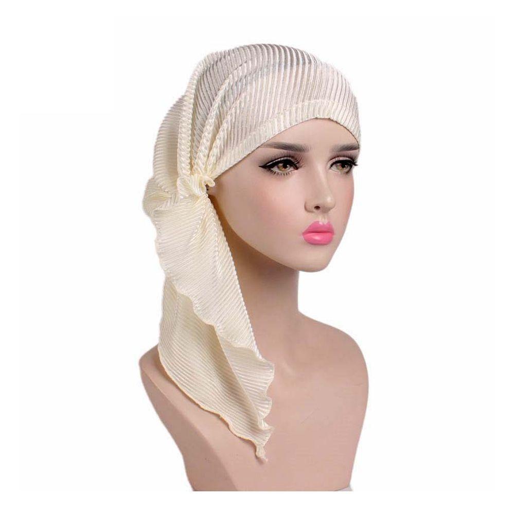 f471d8c9a23e Femme Mode Chapeau Turban Foulard Pour Enveloppe Cancer Chimio Casquette -  Tek-Grande