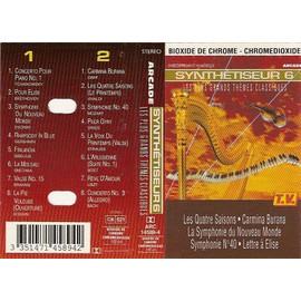 Cassette Synthetiseur 6 - Les Plus Grands Th�mes Classiques