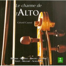 Le Charme de l'alto : Mozart, Hummel, Liszt, Brahms : CLA 671