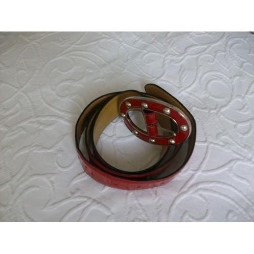 d0020ef1dfb3 ceinture rouge vernie pas cher ou d occasion sur Rakuten