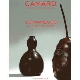 C�ramiques . Massier, Zsolnay, Lion, Pacton, Dalpayrat, Cazaux, Hermans, Girel, Montmollin, Champy, Serr�, Lugassy, Kiefer, Bayle, Hair...Catalogue De Vente 5/11/2008 N� 0